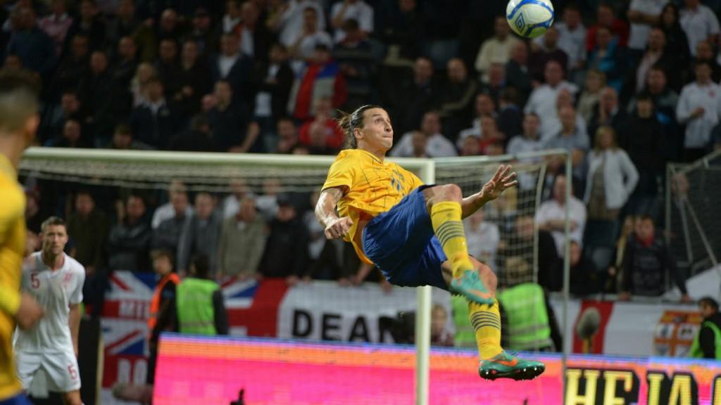 """Zlatan Ibrahimovic: """"Ich fühle die Verantwortung. Aber das gefällt mir. Das treibt mich an"""" (Foto: http://svenskfotboll.se/)"""