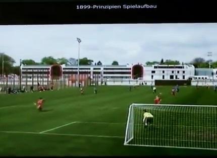 Hoffenheim wertet die Spielerdaten aus (Foto: youtube)