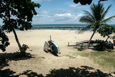 Der Strand von Recife, Spielort der DFB-Elf (Foto: Dieter Hopf  / pixelio.de)