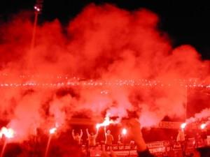 Fans von Dynamo Dresden sorgten wieder mal für schwere Krawalle! (Foto: Ute Kawik  / pixelio.de)