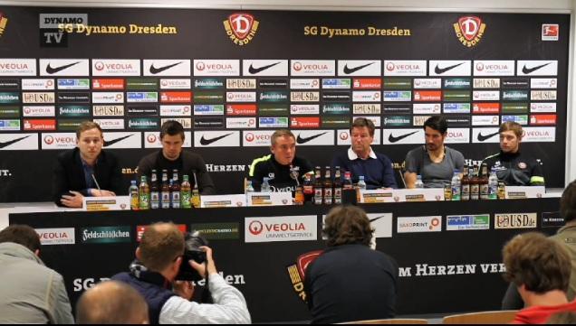 Gänsehaut bei Dynamo-Pressekonferenz