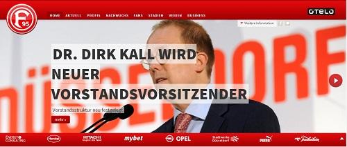 Dr. Kall wird neuer Vorstandsvorsitzender bei Fortuna! (Foto: Screenshot fortuna-duesseldorf.de)
