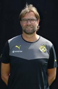 Jürgen Klopp im Weihnachtsinterview (Foto: BVB)