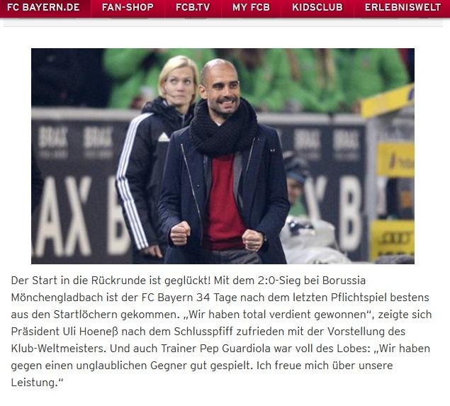 Bayern besiegt Borussia!