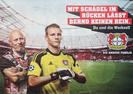 Seit Wochenbeginn ist die neue Werkself-Kampagne von Bayer 04 in Leverkusen und der Region immer deutlicher sichtbar!