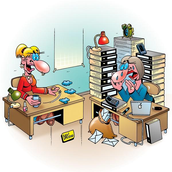Mythos Multitasking gepaart mit Information Overload (Foto: Stefan Bayer  / pixelio.de)